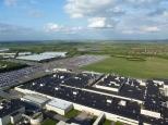 View from Honda Plant towards South Marston