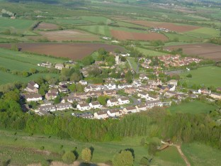 South Marston from the Air