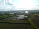 South Marston Solar Farm view to the West