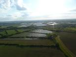 South Marston Solar Farm view to the West