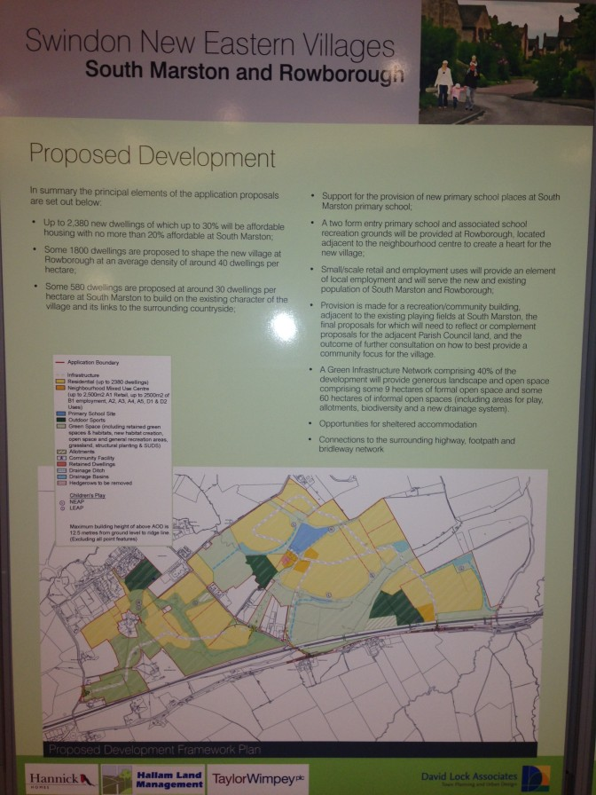 Village Expansion: Comments Required – Updated with slides from Exhibition