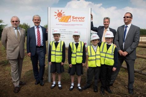 Sevor Solar Farm Opening