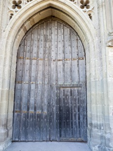 Main door to castle