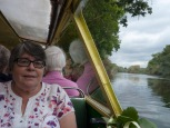 Cruise on river Wye
