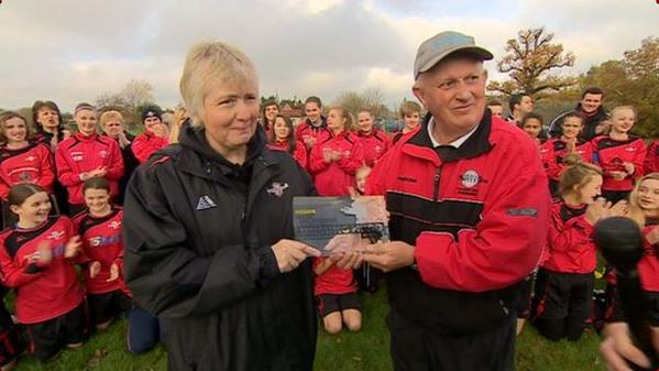 Chris and Bev Maull – 3rd overall in BBC Unsung Sports Hero of the Year 2014