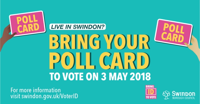Don't forget your poll card next week!