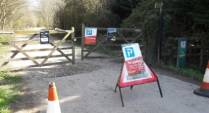Nightingale Wood car park closed