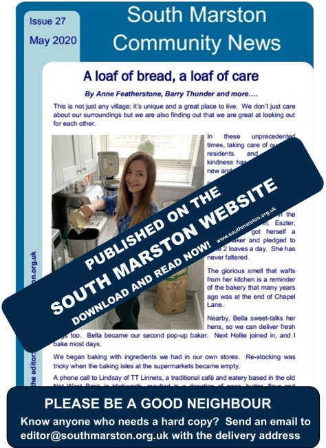 Community News - on the South Marston Website